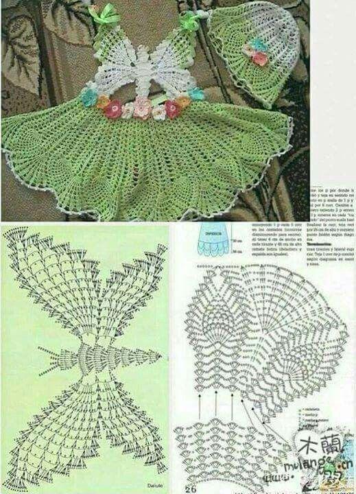 crochet princess dress 2