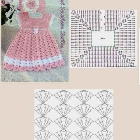 crochet princess dress 3