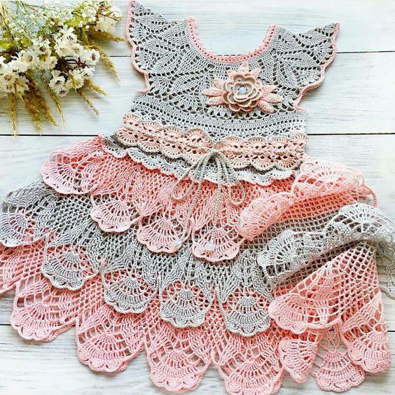 crochet princess dress 4