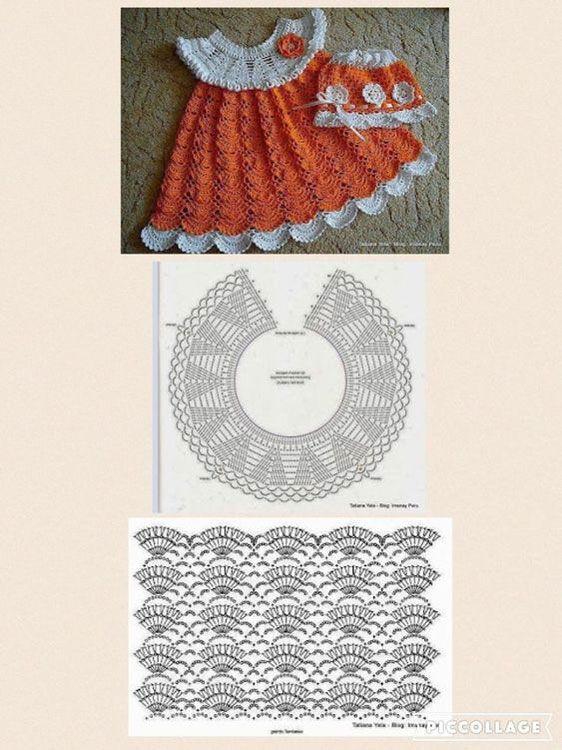 crochet princess dress 5