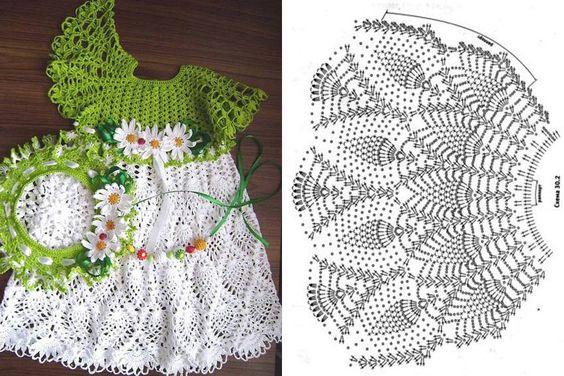 crochet princess dress 6