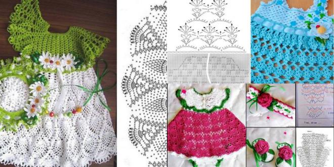 crochet princess dress