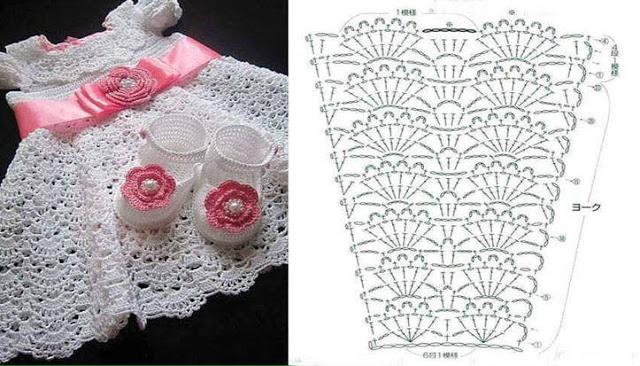 crochet princess dress 8