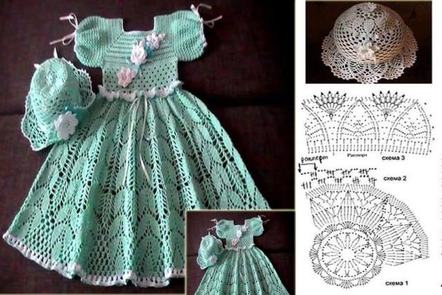 crochet princess dress 9