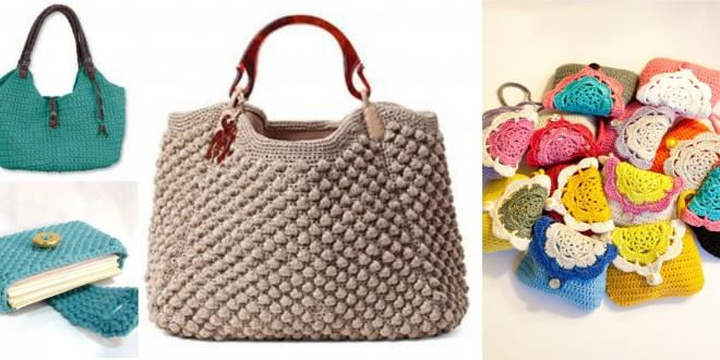 crochet purse wallet