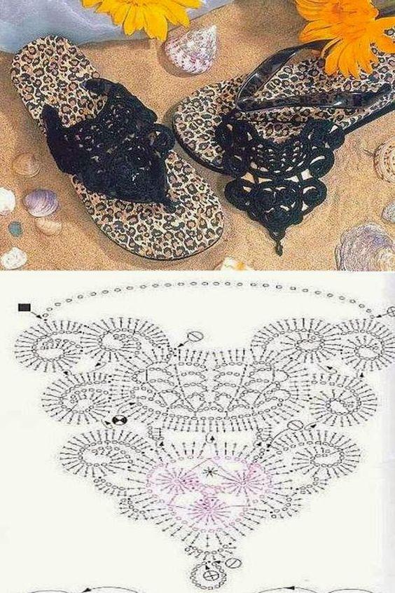 crochet sandals ideas 4