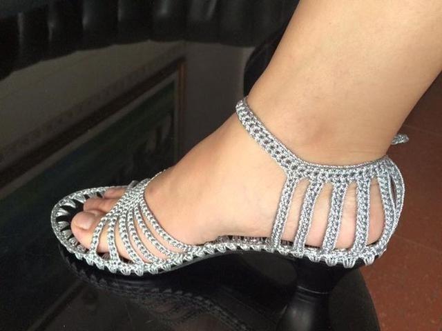 crochet sandals ideas 6