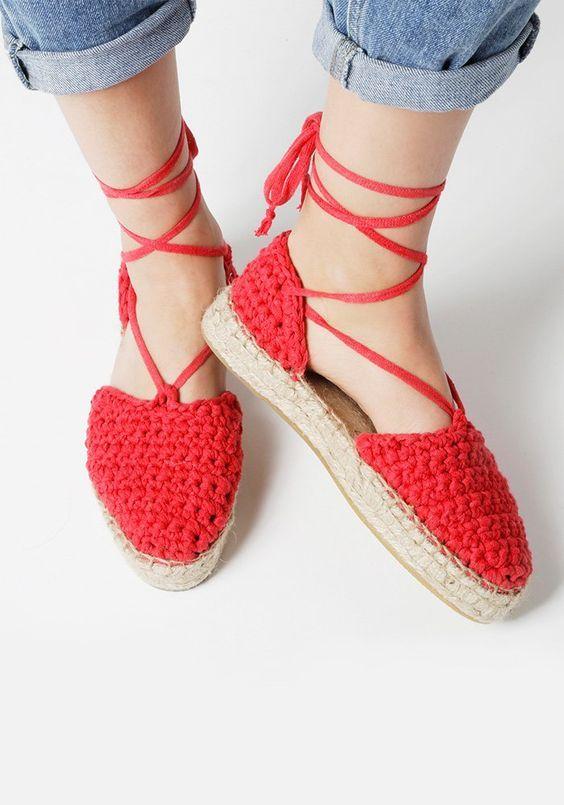 crochet sandals ideas 7