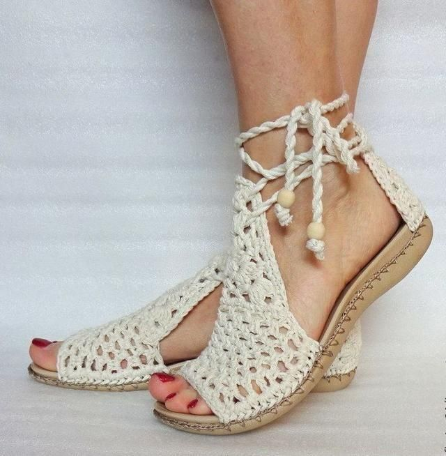 crochet sandals ideas 8