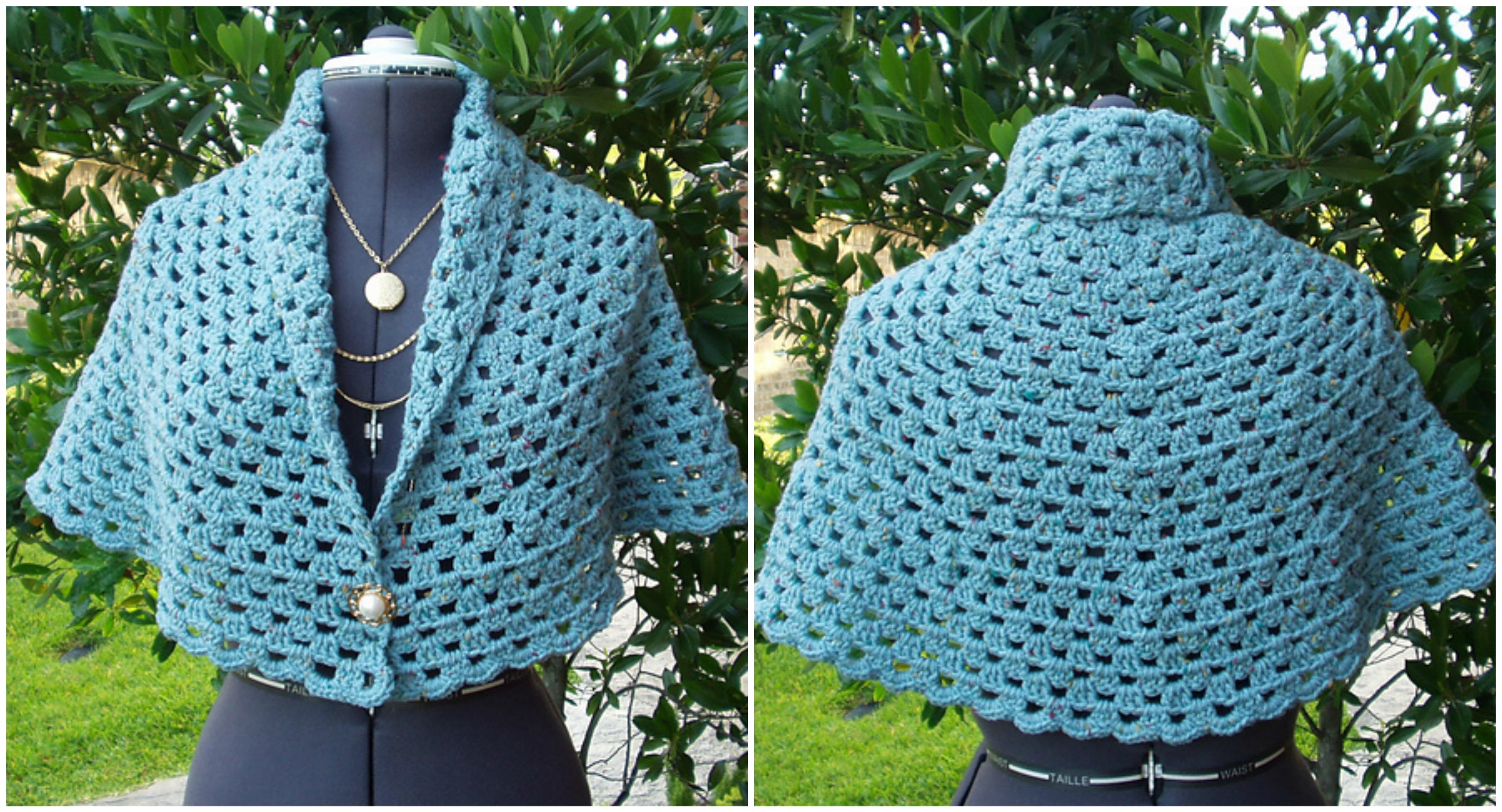 Crochet Shawl Free Pattern Patterns With Diagrams