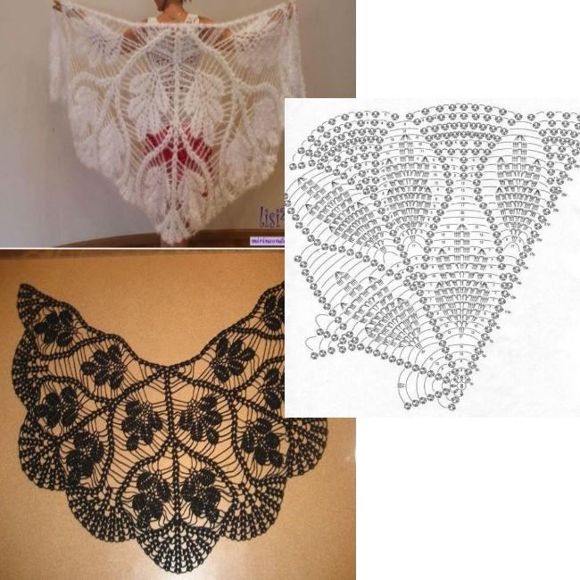 crochet shawls tutorial patterns
