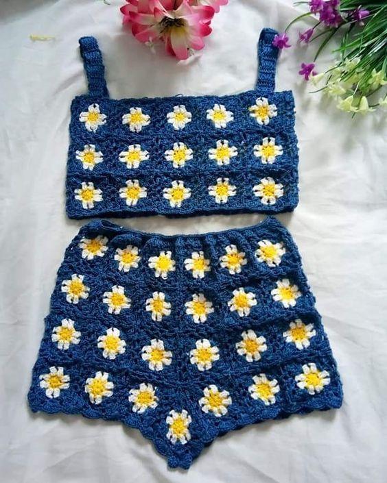 crochet shorts video ideas 8