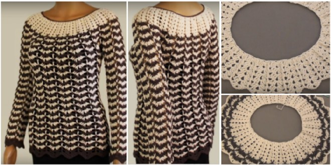 crochet sleeve