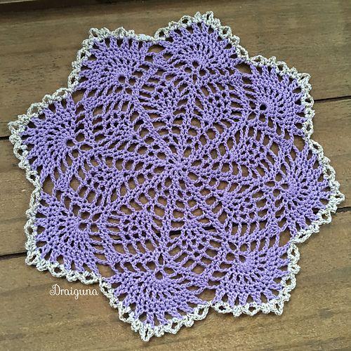 crochet spring song doily 2