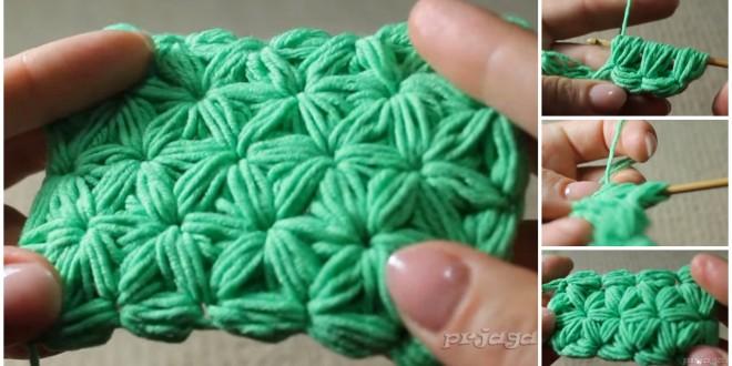 crochet stars sticht