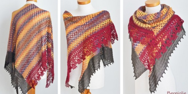 crochet summer wrap