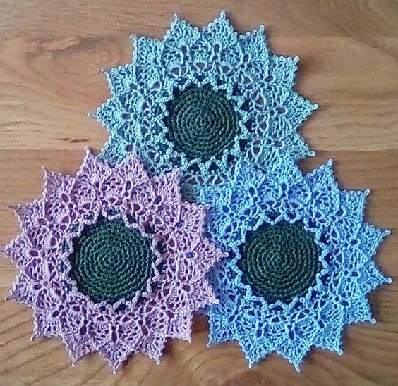 crochet sunmote doily 1