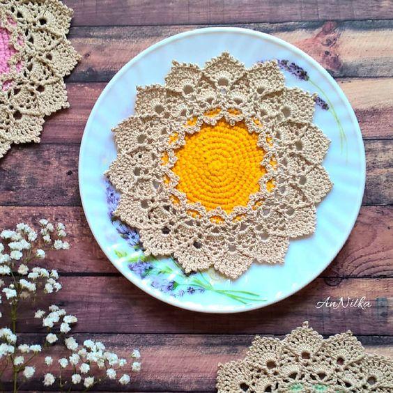 crochet sunmote doily 3