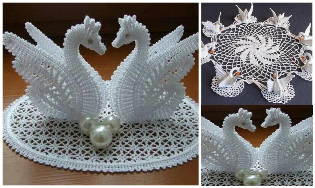 crochet-swan