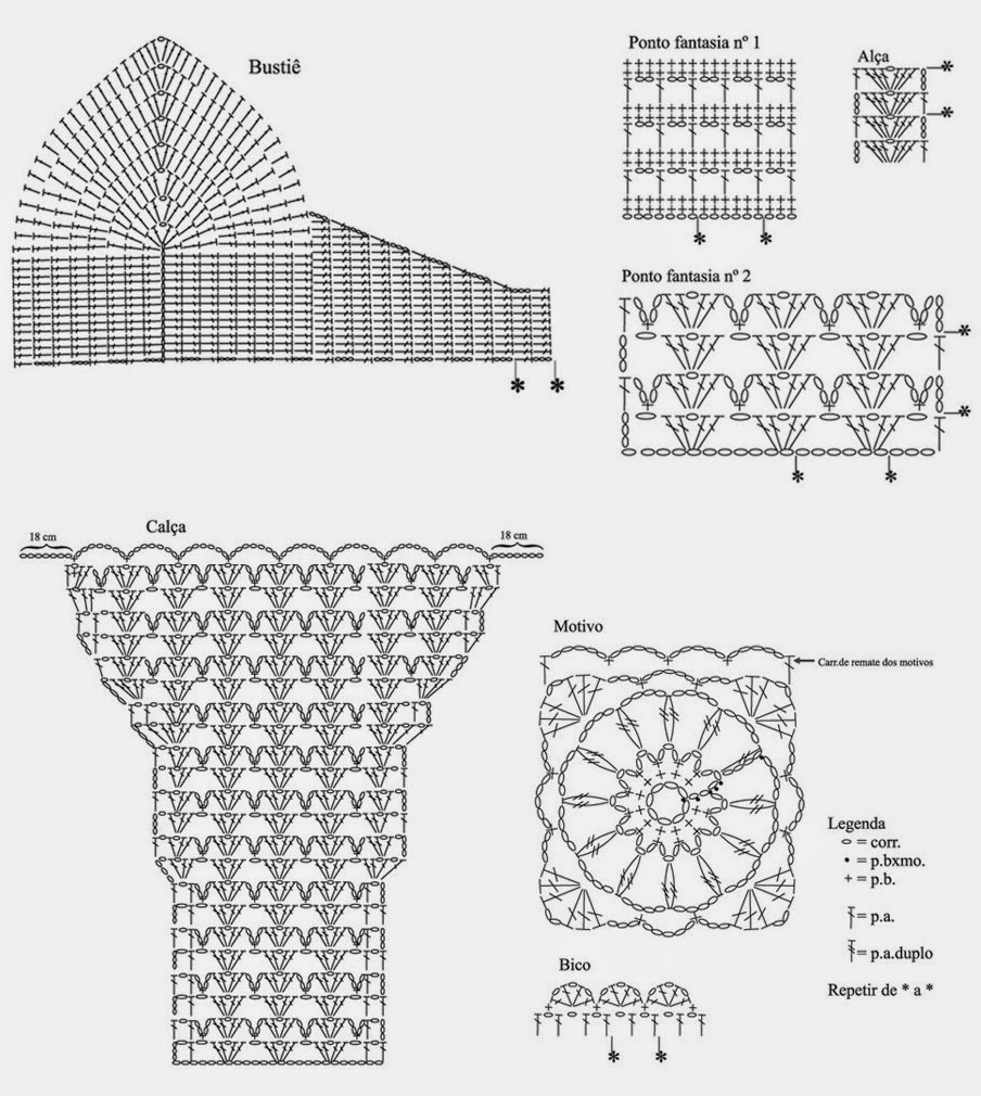 crochet swimsuit ideas tutorial 6