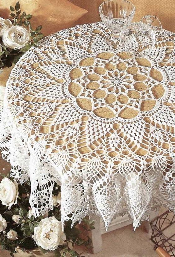 crochet tablecloths ideas graphics 1