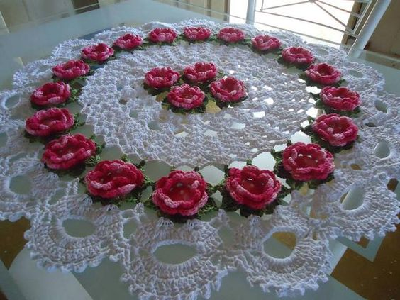 crochet tablecloths ideas graphics 11