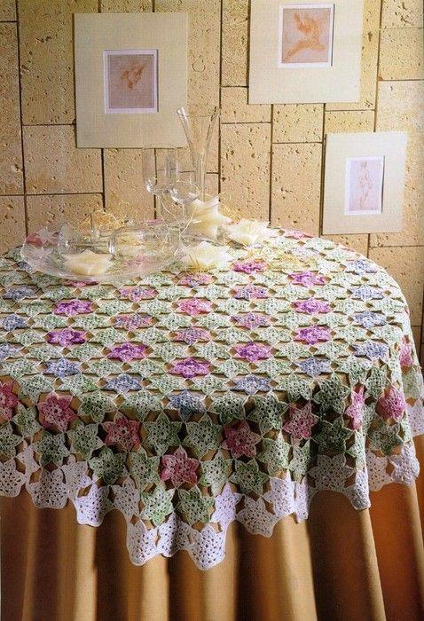 crochet tablecloths ideas graphics 3