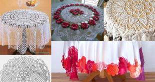 crochet tablecloths ideas graphics