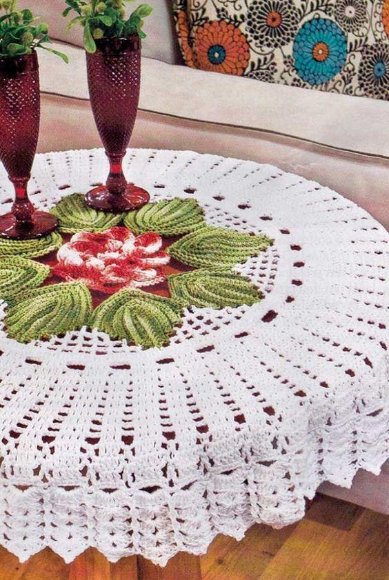 crochet tablecloths ideas graphics 5
