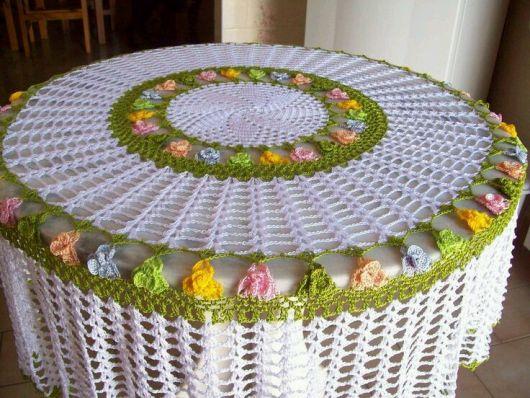 crochet tablecloths ideas graphics 7