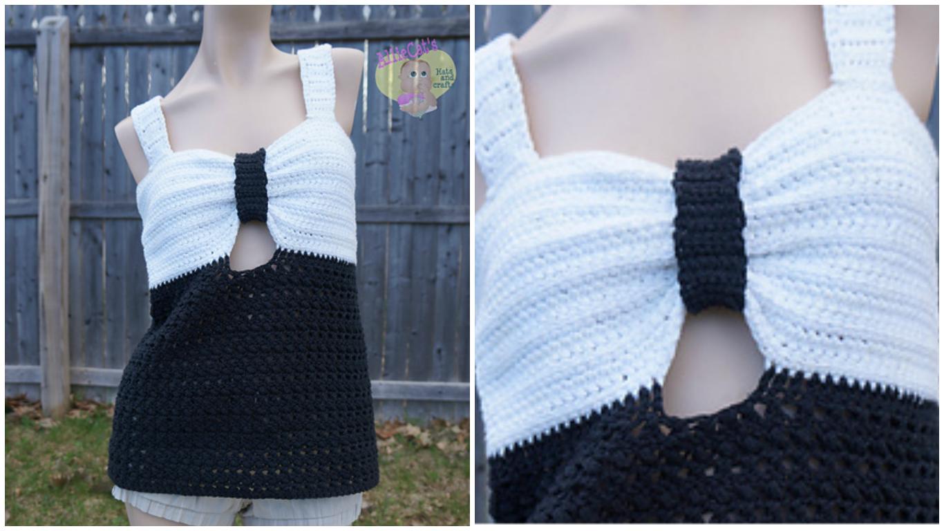 crochet tank top 1