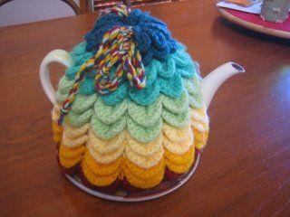 crochet teapot cover 6