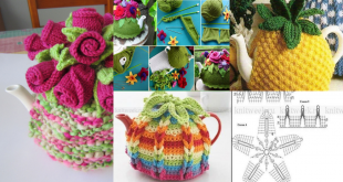 crochet teapot cover pattern