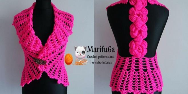 crochetvestbolerowithroses