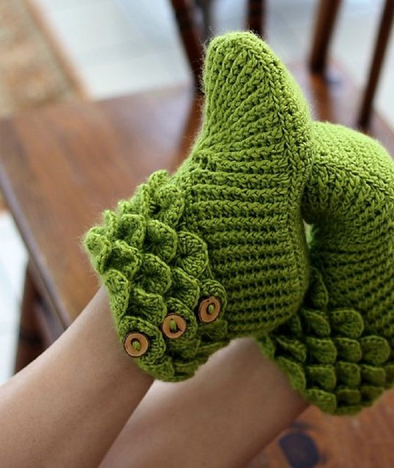 crocodile stitch crochet boots 2