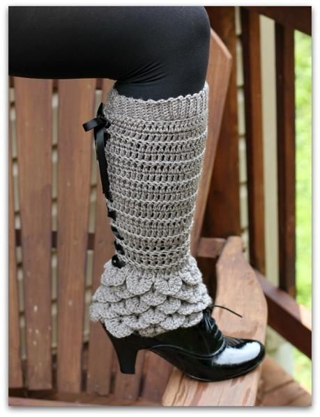 crocodile stitch crochet boots 9
