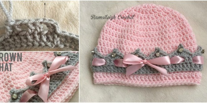 crown hat crochet