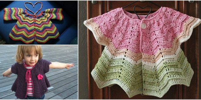 cute baby cardigan crochet