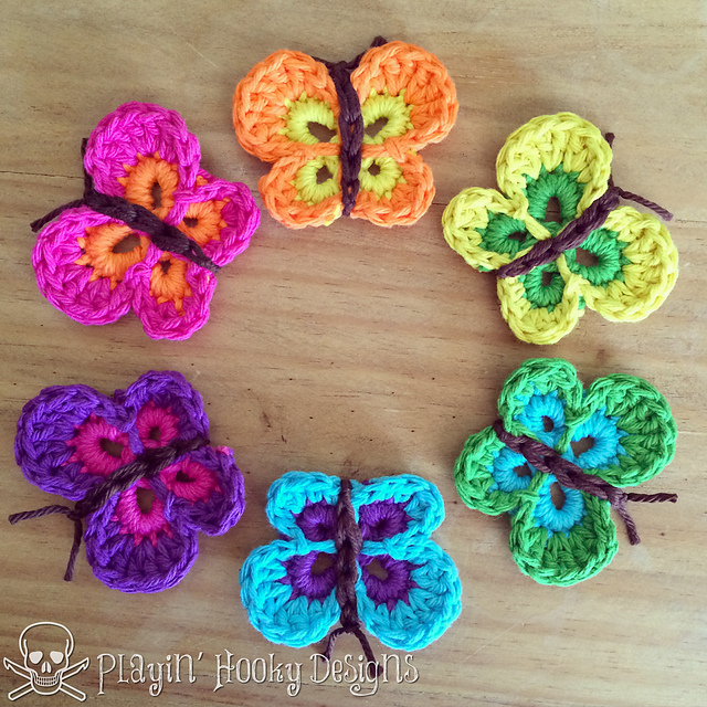 cute-crochet-butterflies