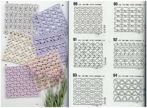 different crochet stitches step by step 10
