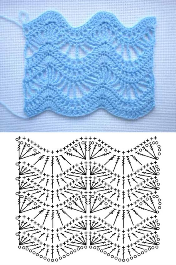 different crochet stitches step by step 13