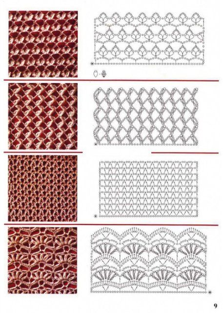 different crochet stitches step by step 3