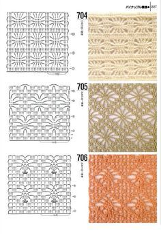 different crochet stitches step by step 7