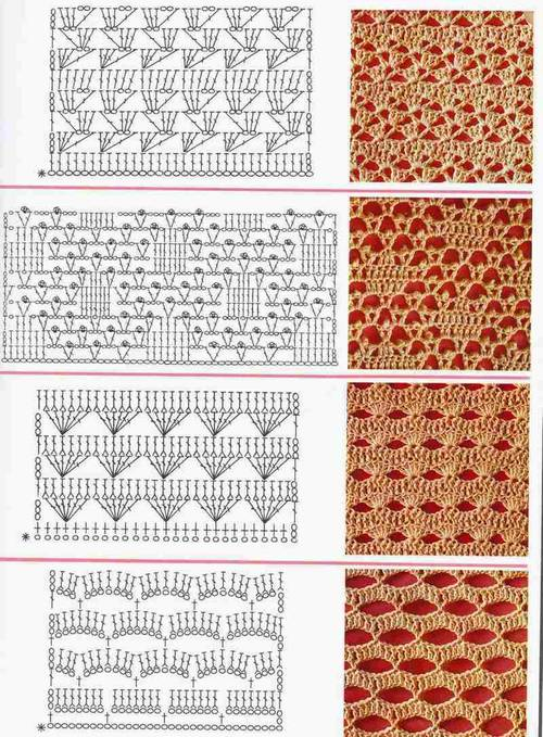 different crochet stitches step by step 9