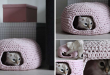 diy Crochet Cat Cave 1