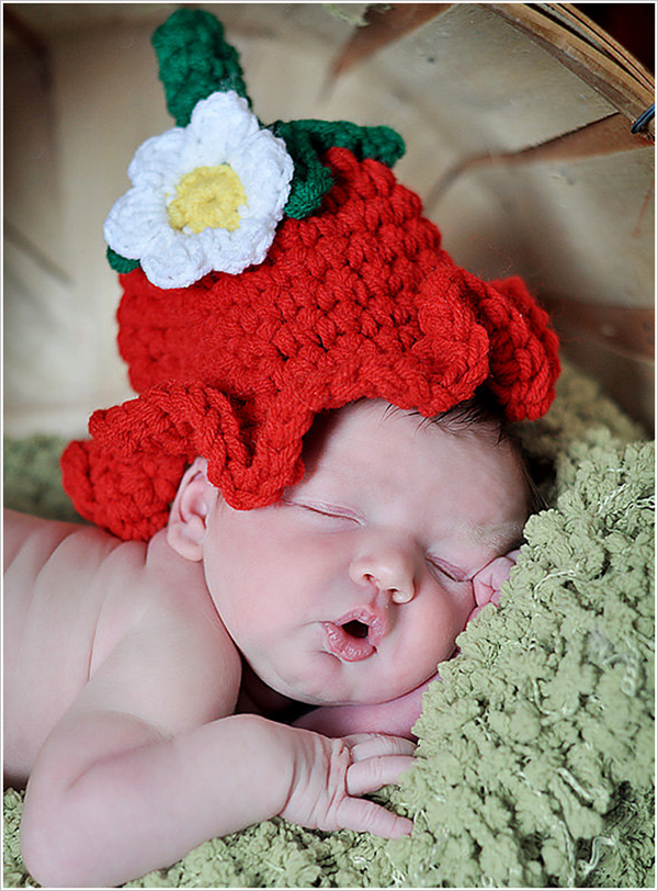 Diy Crochet Adorable Baby Bluebell Hats Free Patterns