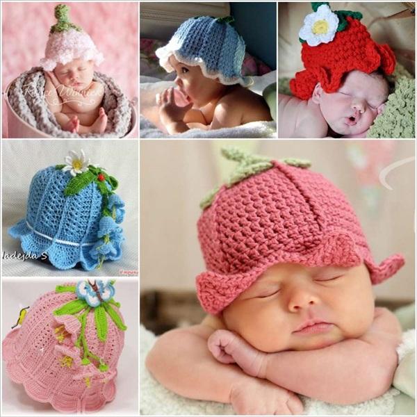 Crochet Hat No Seam