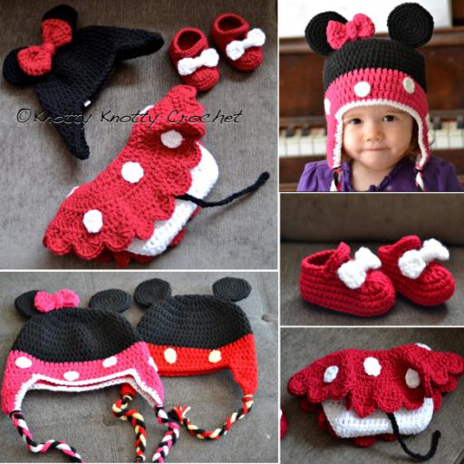 Diy Crochet Minnie Little Mouse Hat Pattern