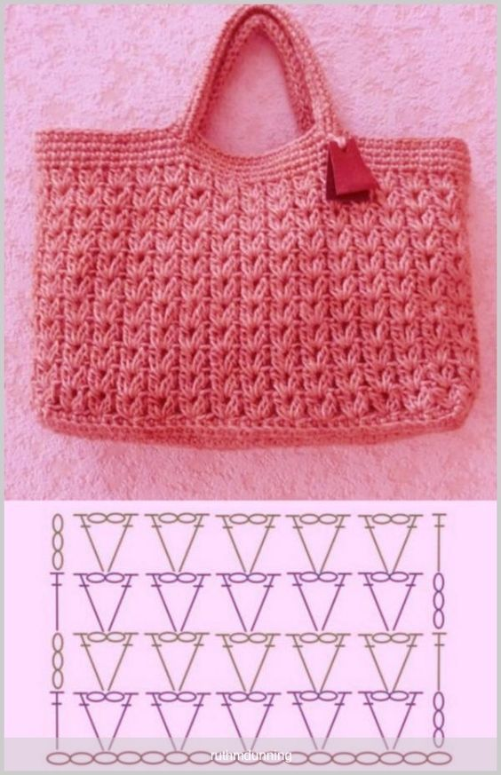 easy crochet bag patterns 10