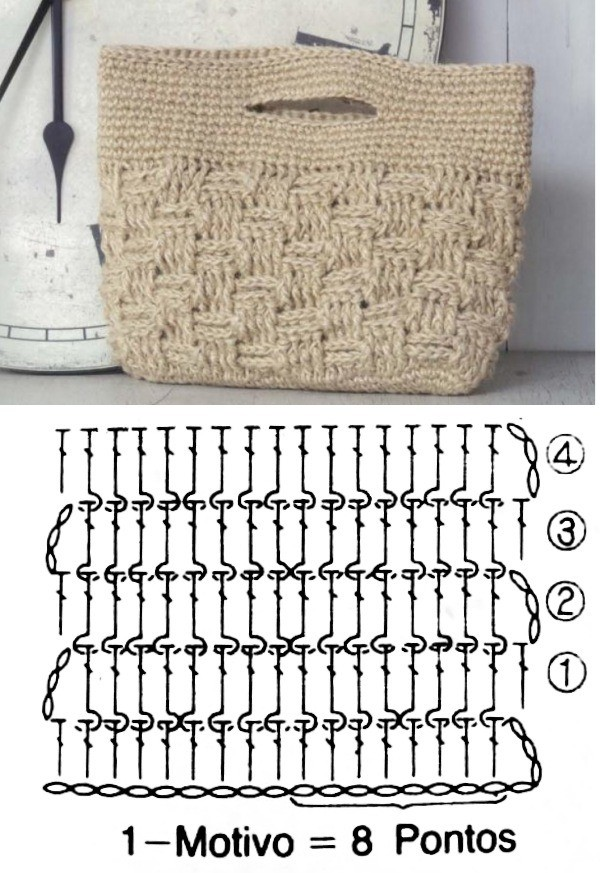 easy crochet bag patterns 11